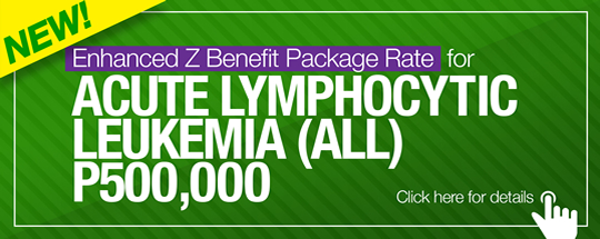Enhanced Z Benefit Package Rate for Acute Lymphocytic Leukemia (ALL)