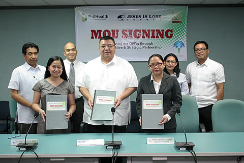 PhilHealth, JILCW and ZBNI  Sign Tripartite Deal