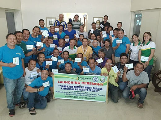 PhilHealth Palawan LHIO Launches Special Project