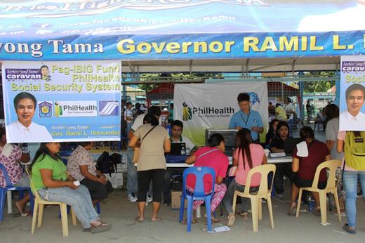 PRO IVA Joins Serbisyong Tama Caravan of Laguna Province