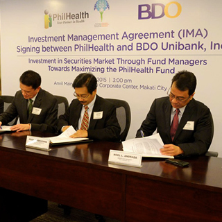 PhilHealth Taps BDO Unibank Inc. as Local Fund Manager