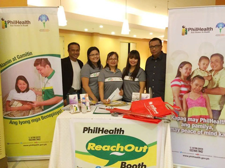 PHILHEALTH REACHOUT BOOTH: Bringing PhilHealth Closer to Health Care Professionals