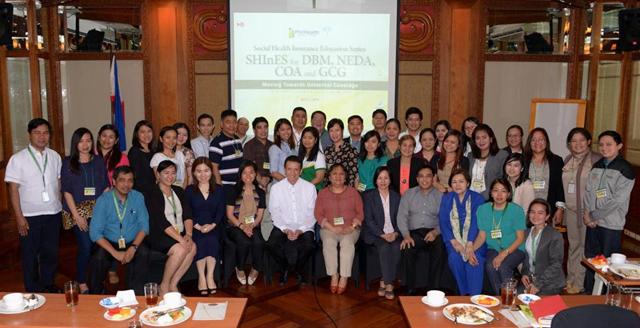 PhilHealth Holds SHInES for NEDA, DBM, COA and GCG
