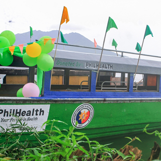 PhilHealth Regional Office V Turns Over Lake Ambulance to Agta Tabagnon Tribe