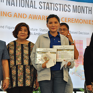 PhilHealth VI Bags 28th National Statistical Month Awards