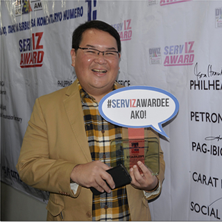 PhilHealth Spokesperson, 2nd-time ServIZ Awardee of Aliw Broadcasting Corporation