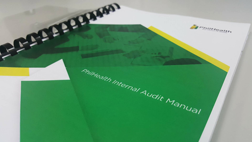 philhealth the first government agency to adopt latest standards in rh philhealth gov ph internal audit manual bank internal audit manual outline