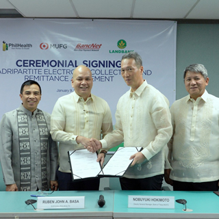 Quadripartite Agreement for Online Premium Collection and Remittance Transactions Inked