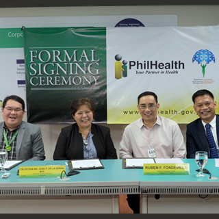 PhilHealth Signs Inter-Agency Agreement for the Protection of Persons of Concern in PHL
