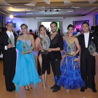 PhilHealth snags titles in the GCAA Dance Sports Event